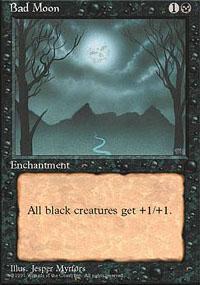 Bad Moon Magic Card