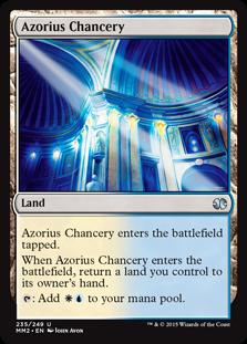 Azorius Chancery Magic Card