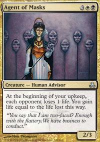 Agent of Masks Magic Card