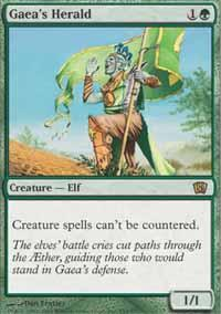 Gaea's Herald Magic Card