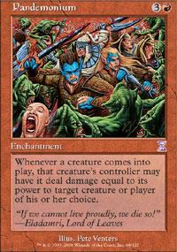 Pandemonium Magic Card
