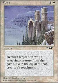 Exile Magic Card