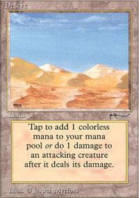Desert Magic Card