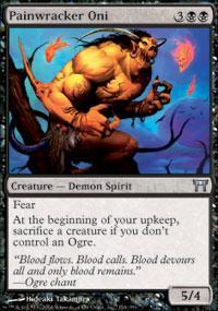 Painwracker Oni Magic Card