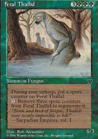 Feral Thallid Magic Card