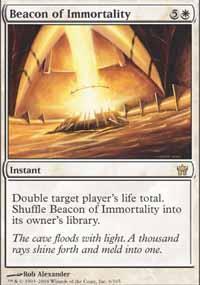 Beacon of Immortality Magic Card