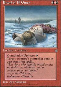 Brand of Ill Omen Magic Card