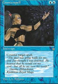 Counterspell Magic Card