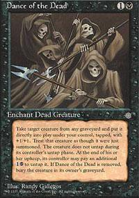 Dance of the Dead Magic Card