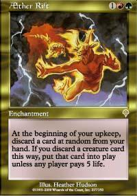 AEther Rift Magic Card