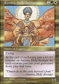 Asmira, Holy Avenger Magic Card