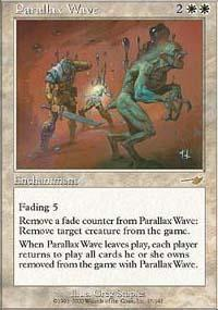Parallax Wave Magic Card