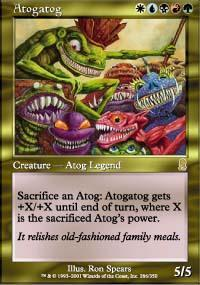 Atogatog Magic Card
