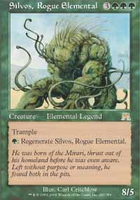 Silvos, Rogue Elemental Magic Card