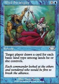 Allied Strategies Magic Card