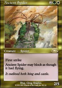 Ancient Spider Magic Card