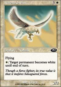 Aurora Griffin Magic Card