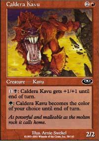 Caldera Kavu Magic Card