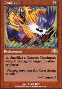 Deadapult Magic Card