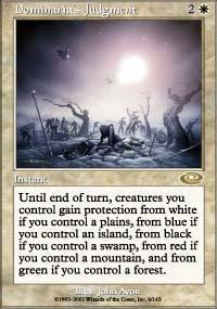 Dominaria's Judgment Magic Card