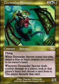Doomsday Specter Magic Card
