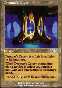 Dromar's Cavern Magic Card