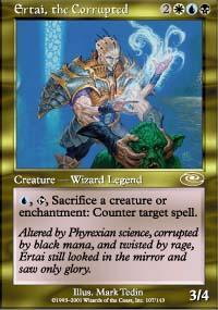 Ertai, the Corrupted Magic Card