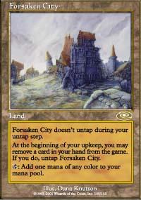 Forsaken City Magic Card