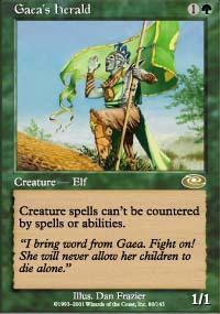 Gaea's Herald Magic Card