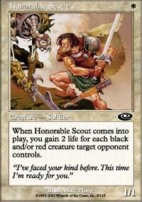 Honorable Scout Magic Card