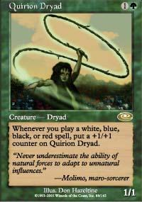Quirion Dryad Magic Card