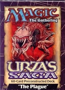 Urza's Saga Theme Deck - The Plague