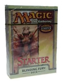 Starter 1999 Theme Deck - Blinding Fury