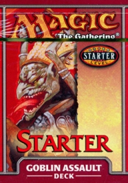 Starter 1999 Theme Deck - Goblin Assault
