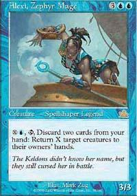 Alexi, Zephyr Mage Magic Card