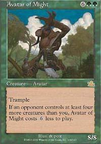 Avatar of Might Magic Card