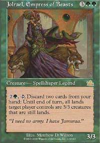 Jolrael, Empress of Beasts Magic Card