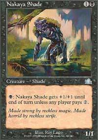 Nakaya Shade Magic Card