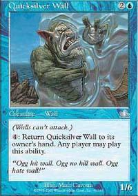 Quicksilver Wall Magic Card