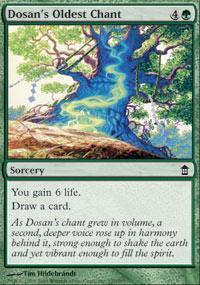 Dosan's Oldest Chant Magic Card