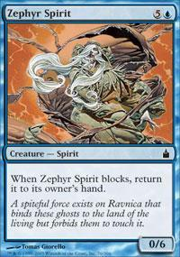 Zephyr Spirit Magic Card