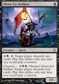 Ghost-Lit Stalker Magic Card