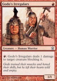 Godo's Irregulars Magic Card