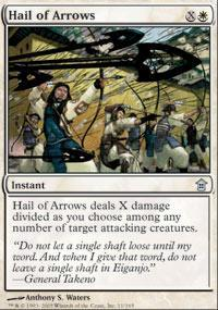Hail of Arrows Magic Card