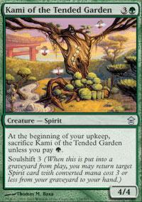 Kami of the Tended Garden Magic Card