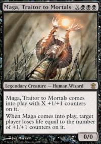 Maga, Traitor to Mortals Magic Card