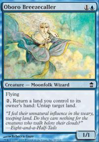 Oboro Breezecaller Magic Card