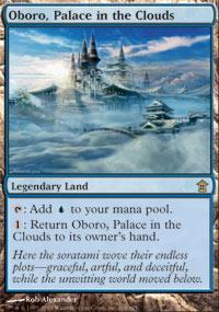 Oboro, Palace in the Clouds Magic Card