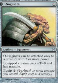 O-Naginata Magic Card