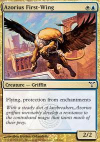 Azorius First-Wing Magic Card